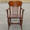 Fauteuil en chêne, chaise - 1
