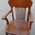 Fauteuil en chêne, chaise - 2