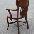 Fauteuil en chêne, chaise - 3