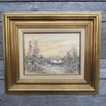 Peinture, tableau, huile sur toile sign?e - 1