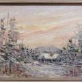 Peinture, tableau, huile sur toile sign?e - 5