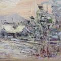 Peinture, tableau, huile sur toile sign?e - 6