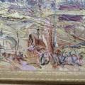Peinture, tableau, huile sur toile sign?e - 3