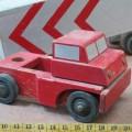 Ancien jouet, camion en bois - 3