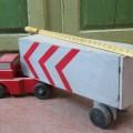 Ancien jouet, camion en bois - 2