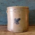 Jarre, tinette de marchand, St-Gervais - 1