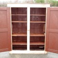 Very old pine cupboard, armoire - 2