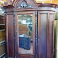 Magnifique armoire garde-robe en acajou - 1