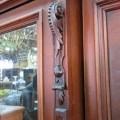 Magnifique armoire garde-robe en acajou - 4