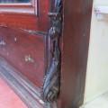 Magnifique armoire garde-robe en acajou - 2