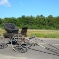 Ancienne voiture à chevaux, calèche, buggy - 3
