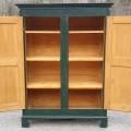 Pine antique armoire, cupbard, has been restored - 2