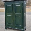 Pine antique armoire, cupbard, has been restored - 1