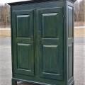 Pine antique armoire, cupbard, has been restored - 9