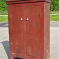 Primitive Quebec pine cupboard - 12