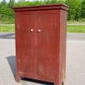 Primitive Quebec pine cupboard - 1