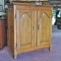 Louis XV buffet, bahut, doors has been fitted to a old frame - 1