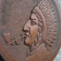 Low relief wooden carving, sculpture - 4