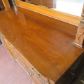 Oak sideboard - 5