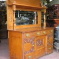Oak sideboard - 7