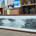 Cadre avec photo panoramique des chutes Niagara, imprimé - 1