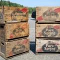 Caisses, boîtes à liqueur, Pure Spring - 1
