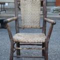 Chaises et table rustiques - 3