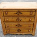 Commode, bureau en pin - 2