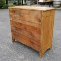 Commode, bureau en pin - 3