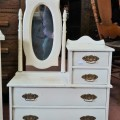 Miniature commode and washstand - 1