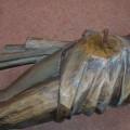 Corpus du Christ finement sculpté en bois, crucifix - 11