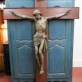 Corpus du Christ finement sculpté en bois, crucifix - 13