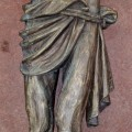Corpus du Christ finement sculpté en bois, crucifix - 5