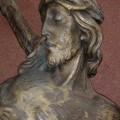 Corpus du Christ finement sculpté en bois, crucifix - 6