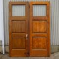 Ensemble de portes vitrées - 1