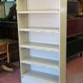 Étagère bibliothèque vintage en métal - 5