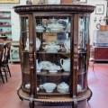 Oak china cabinet - 1