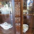 Oak china cabinet - 3