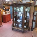 Oak china cabinet - 5