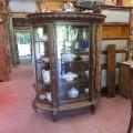 Oak china cabinet - 6