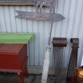 Hand made cuper weathervane with horse - 2
