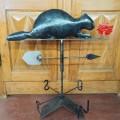 Beaver weathervane (reproduction) - 2