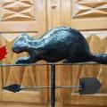 Beaver weathervane (reproduction) - 5