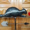 Beaver weathervane (reproduction) - 6