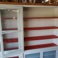 Grande armoire bibliothèque vitrée - 2