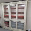 Grande armoire bibliothèque vitrée - 1