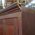 Grande armoire en pin, panneaux creux - 4