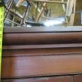 Grande armoire en pin, panneaux creux - 6