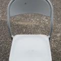 Lot de chaises en métal - 2
