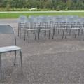 Lot de chaises en métal - 1